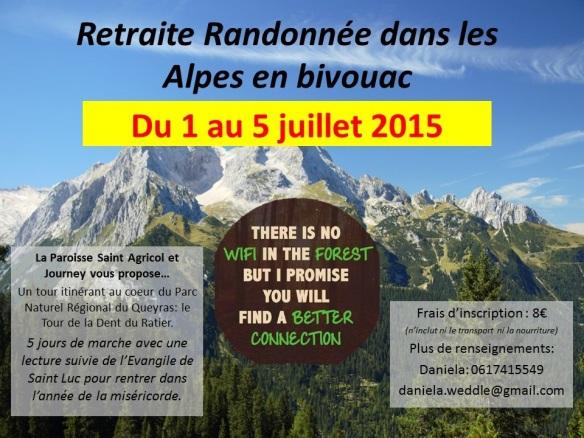 4 Retraite Randonnée dans les Alpes en bivouac